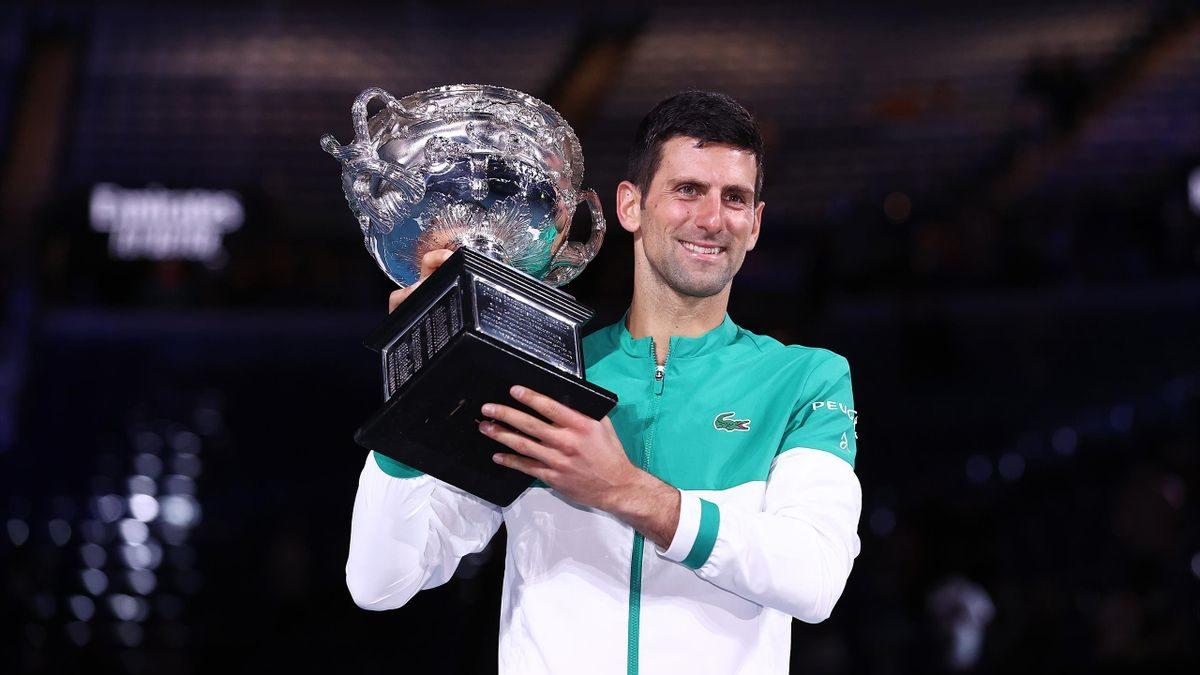 Novak Djokovic wins the Australian Open 2021 Men's Final